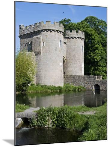 Shropshire, Whittington, Whittington Castle, England-John Warburton-lee-Mounted Photographic Print