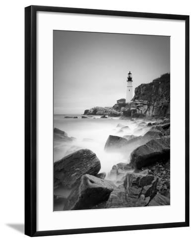 Maine, Portland, Portland Head Lighthouse, USA-Alan Copson-Framed Art Print