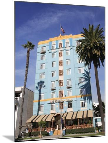 Art Deco, Georgian Hotel, Ocean Avenue, Santa Monica, Los Angeles-Wendy Connett-Mounted Photographic Print