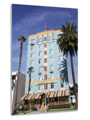 Art Deco, Georgian Hotel, Ocean Avenue, Santa Monica, Los Angeles-Wendy Connett-Metal Print
