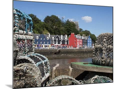 Lobster Pots in Tobermory, Mull, Inner Hebrides, Scotland, United Kingdom, Europe-David Lomax-Mounted Photographic Print