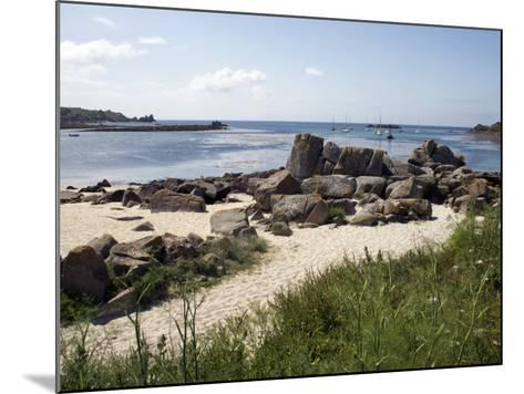 Porth Cress, St. Mary's, Isles of Scilly, United Kingdom, Europe-David Lomax-Mounted Photographic Print