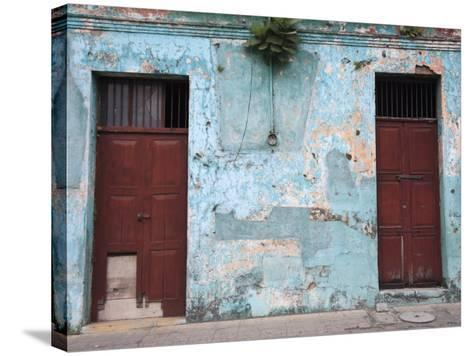 Colonial Architecture, Antigua, Guatemala, Central America-Wendy Connett-Stretched Canvas Print