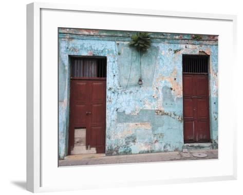 Colonial Architecture, Antigua, Guatemala, Central America-Wendy Connett-Framed Art Print