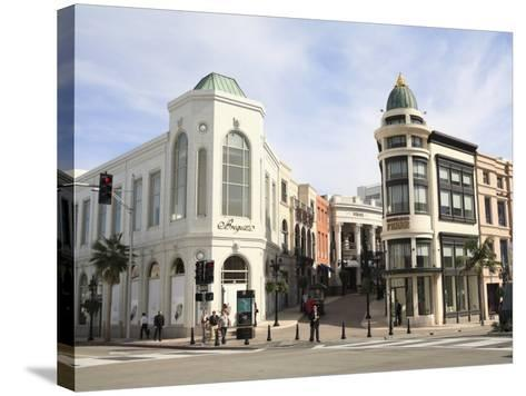 Rodeo Drive, Beverly Hills, Los Angeles, California, United States of America, North America-Wendy Connett-Stretched Canvas Print