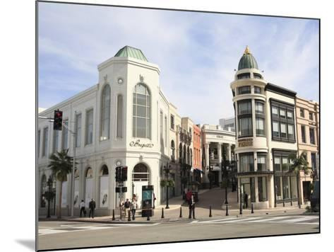 Rodeo Drive, Beverly Hills, Los Angeles, California, United States of America, North America-Wendy Connett-Mounted Photographic Print
