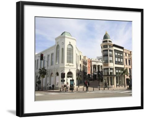 Rodeo Drive, Beverly Hills, Los Angeles, California, United States of America, North America-Wendy Connett-Framed Art Print