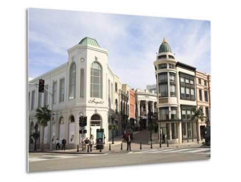 Rodeo Drive, Beverly Hills, Los Angeles, California, United States of America, North America-Wendy Connett-Metal Print