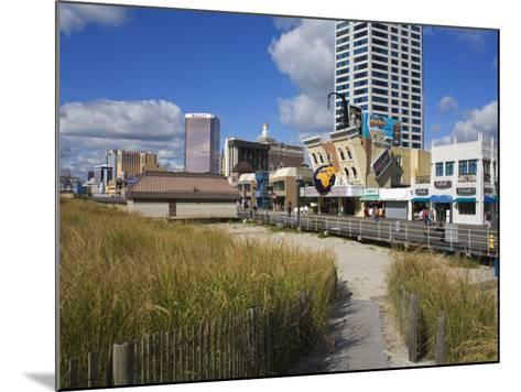Atlantic City Boardwalk, Atlantic City, New Jersey, United States of America, North America-Richard Cummins-Mounted Photographic Print