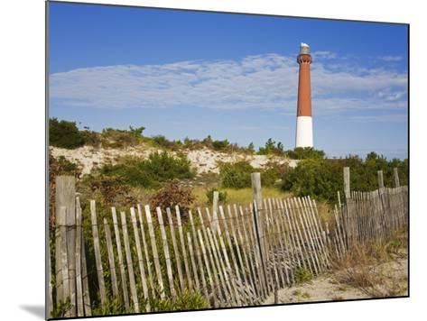 Barnegat Lighthouse in Ocean County, New Jersey, United States of America, North America-Richard Cummins-Mounted Photographic Print