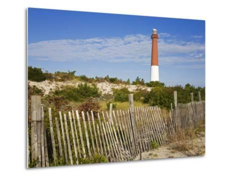 Barnegat Lighthouse in Ocean County, New Jersey, United States of America, North America-Richard Cummins-Metal Print
