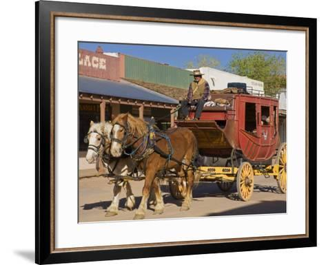 Stagecoach, Tombstone, Cochise County, Arizona, United States of America, North America-Richard Cummins-Framed Art Print