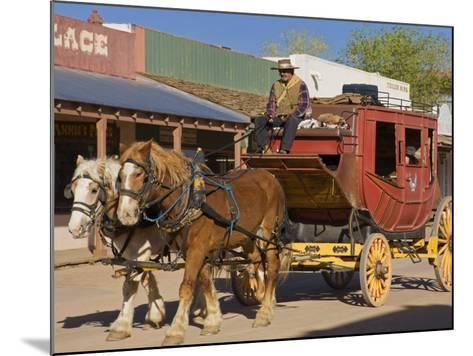 Stagecoach, Tombstone, Cochise County, Arizona, United States of America, North America-Richard Cummins-Mounted Photographic Print