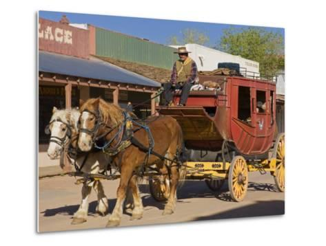 Stagecoach, Tombstone, Cochise County, Arizona, United States of America, North America-Richard Cummins-Metal Print