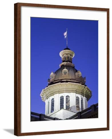 State Capitol Dome, Columbia, South Carolina, United States of America, North America-Richard Cummins-Framed Art Print