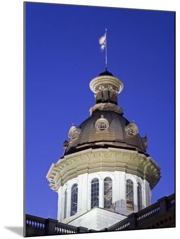 State Capitol Dome, Columbia, South Carolina, United States of America, North America-Richard Cummins-Mounted Photographic Print