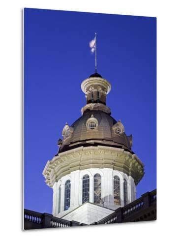 State Capitol Dome, Columbia, South Carolina, United States of America, North America-Richard Cummins-Metal Print