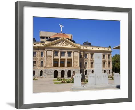 State Capitol Museum, Phoenix, Arizona, United States of America, North America-Richard Cummins-Framed Art Print