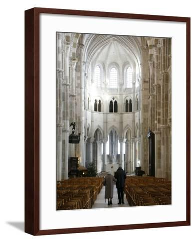 Vezelay Basilica, UNESCO World Heritage Site, Vezelay, Yonne, Burgundy, France, Europe-Godong-Framed Art Print