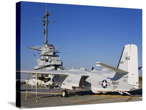 Uss Yorktown Aircraft Carrier, Patriots Point Naval and Maritime Museum, Charleston-Richard Cummins-Stretched Canvas Print