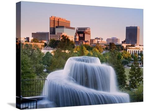 Finlay Park Fountain, Columbia, South Carolina, United States of America, North America-Richard Cummins-Stretched Canvas Print