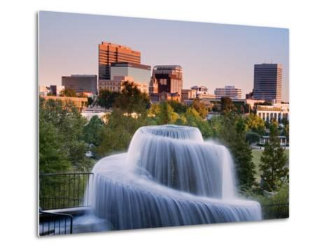 Finlay Park Fountain, Columbia, South Carolina, United States of America, North America-Richard Cummins-Metal Print