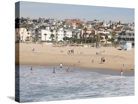 Hermosa Beach, Los Angeles, California, United States of America, North America-Wendy Connett-Stretched Canvas Print