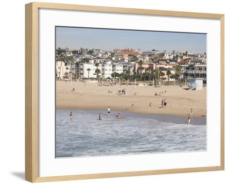 Hermosa Beach, Los Angeles, California, United States of America, North America-Wendy Connett-Framed Art Print