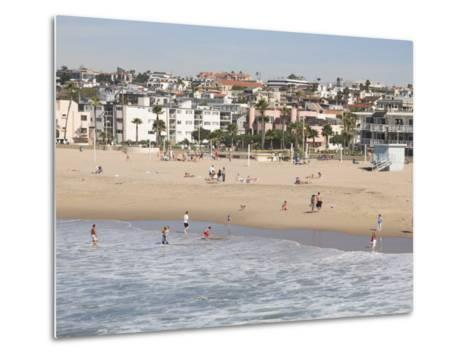 Hermosa Beach, Los Angeles, California, United States of America, North America-Wendy Connett-Metal Print