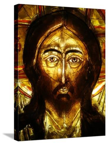 Christ Icon, Lourdes, Hautes Pyrenees, France, Europe-Godong-Stretched Canvas Print