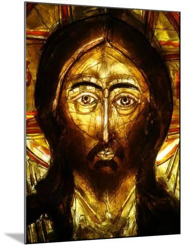 Christ Icon, Lourdes, Hautes Pyrenees, France, Europe-Godong-Mounted Photographic Print