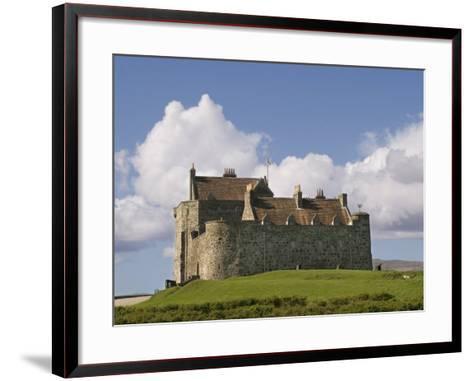 Duart Castle, Mull, Inner Hebrides, Scotland, United Kingdom, Europe-Rolf Richardson-Framed Art Print