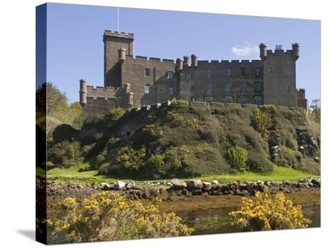 Dunvegan Castle, Skye, Inner Hebrides, Scotland, United Kingdom, Europe-Rolf Richardson-Stretched Canvas Print