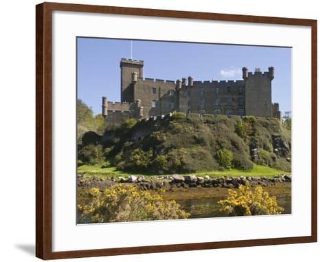 Dunvegan Castle, Skye, Inner Hebrides, Scotland, United Kingdom, Europe-Rolf Richardson-Framed Art Print