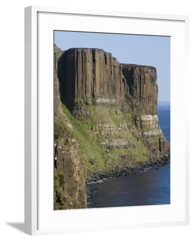 Kilt Rock, Skye, Inner Hebrides, Scotland, United Kingdom, Europe-Rolf Richardson-Framed Art Print