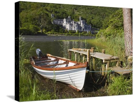 Kylemore Abbey and Lake, Connemara, County Galway, Connacht, Republic of Ireland, Europe-Richard Cummins-Stretched Canvas Print