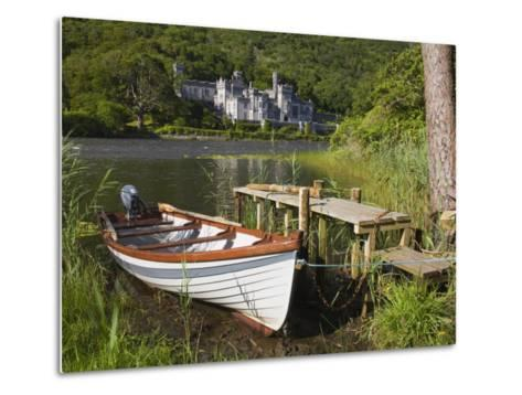 Kylemore Abbey and Lake, Connemara, County Galway, Connacht, Republic of Ireland, Europe-Richard Cummins-Metal Print