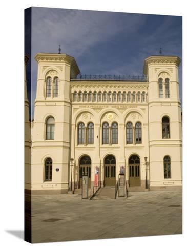 Nobel Peace Center, Oslo, Norway, Scandinavia, Europe-Rolf Richardson-Stretched Canvas Print