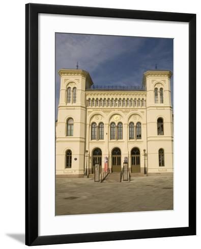 Nobel Peace Center, Oslo, Norway, Scandinavia, Europe-Rolf Richardson-Framed Art Print