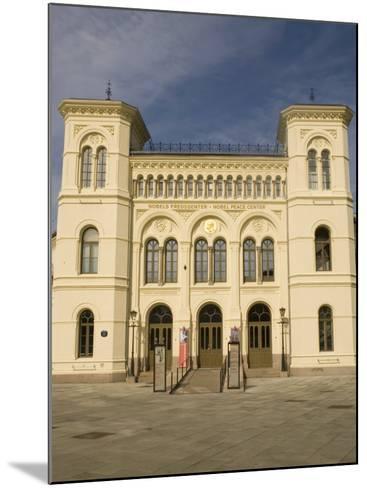 Nobel Peace Center, Oslo, Norway, Scandinavia, Europe-Rolf Richardson-Mounted Photographic Print
