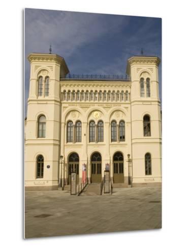 Nobel Peace Center, Oslo, Norway, Scandinavia, Europe-Rolf Richardson-Metal Print