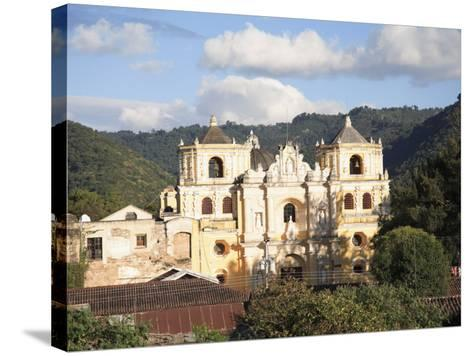 Merced Church, Antigua, UNESCO World Heritage Site, Guatemala, Central America-Wendy Connett-Stretched Canvas Print
