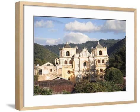 Merced Church, Antigua, UNESCO World Heritage Site, Guatemala, Central America-Wendy Connett-Framed Art Print
