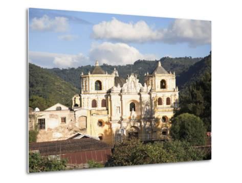 Merced Church, Antigua, UNESCO World Heritage Site, Guatemala, Central America-Wendy Connett-Metal Print