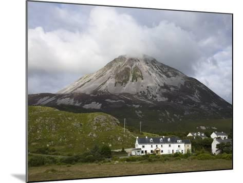 Mount Errigal and Dunlewy Village, County Donegal, Ulster, Republic of Ireland, Europe-Richard Cummins-Mounted Photographic Print