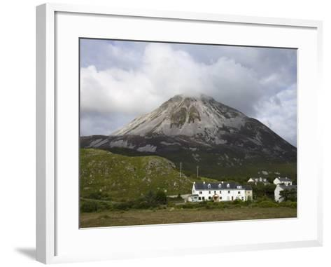 Mount Errigal and Dunlewy Village, County Donegal, Ulster, Republic of Ireland, Europe-Richard Cummins-Framed Art Print