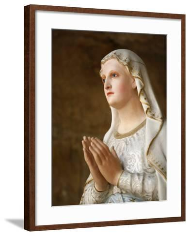 Our Lady of Fatima, Semur-En-Auxois, Cote D'Or, Burgundy, France, Europe-Godong-Framed Art Print