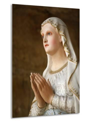 Our Lady of Fatima, Semur-En-Auxois, Cote D'Or, Burgundy, France, Europe-Godong-Metal Print