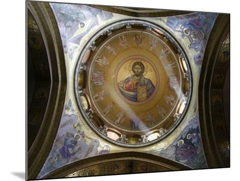 Dome of the Katholikon Greek Orthodox Church in the Church of the Holy Sepulchre, Jerusalem-Godong-Mounted Photographic Print