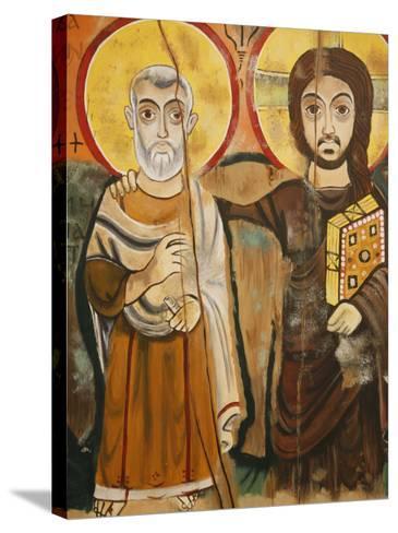 Taize Icon, Geneva, Switzerland, Europe-Godong-Stretched Canvas Print